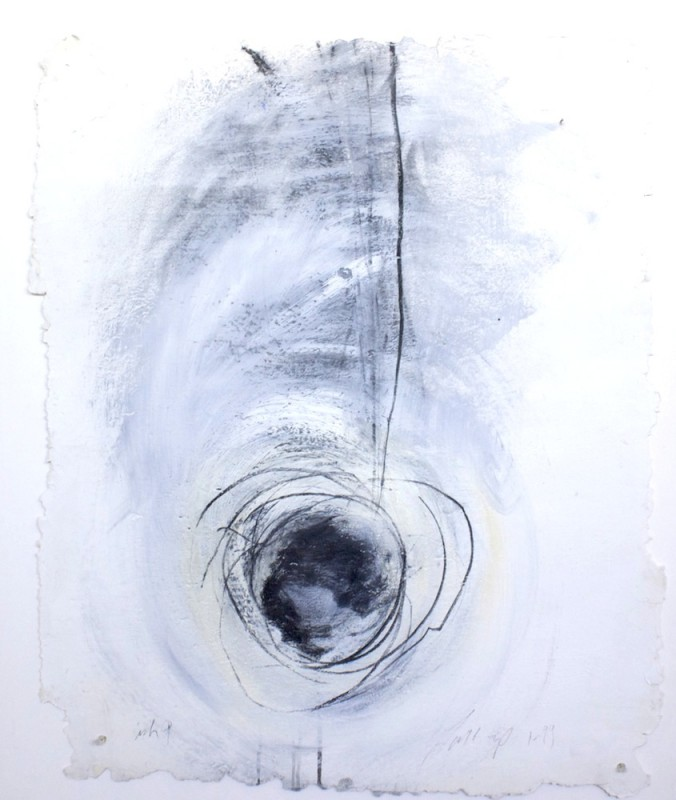 1999   acrylic / charcoal / artist-made paper   $500.00
